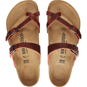 Birkenstock Mayari LEOI Sandals Regular Women, earth red